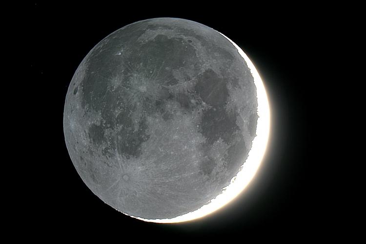 Luce cinerea sistema solare e comete disastrofotografi - Specchi riflettenti luce solare ...